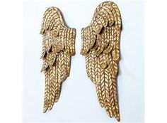 SET OF 2 ANGEL WINGS WALL PLAQUE- BALLARD DESIGNS : Marketplace DIY Network - Browse Products Available Just for You