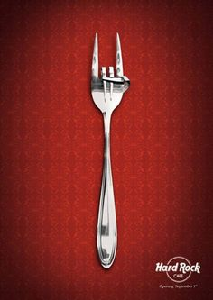Hard Rock Cafe - #advertisement #advertising #poster #ads #reklam #rock #hardrockcafe