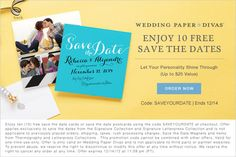 Free Save the Date Cards!
