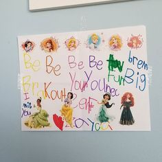 """My baby wrote me a pep talk this morning  """"BE BRAVE BE CUTE (?) BE YOURSELF BE UNIQUE HAVE FUN DREAM BIG I MISS YOU""""  My heart melted  #zaydajewell #myheart #lovethiskid #shespeakslife #shealwayskowswhatineed #5yearold #shespellslikeherdaddy #iloveher #momlife #workingmom #love #instagood"""