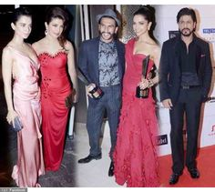 """In Pics: Shah Rukh Khan, Priyanka Chopra, Deepika Padukone attend an award show together Many popular Bollywood actors were spotted at the Hello hall of fame awards in Mumbai last night. The list included Shah Rukh Khan, Deepika Padukone, Ranveer Singh and Priyanka Chopra. """"Lovely evening at the Hello hall of fame awards..met my colleagues and friends after a long time."""