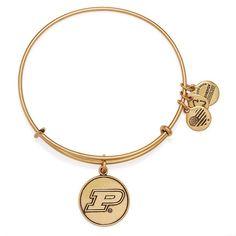 Purdue Boilermakers Alex & Ani Women's Bracelet - Gold