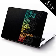 tenke positivt designe hele kroppen beskyttende plasteske for 11-tommers / 13-tommers nye MacBook Air – NOK kr. 228