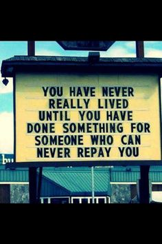Great quote for a non profit wall.