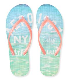 27cdecec7c075f Aero Surf Club Sunset Flip-Flop (84 MXN) ❤ liked on Polyvore ...