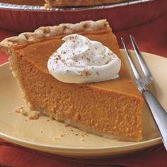 Easy Pumpkin Pie from Pillsbury