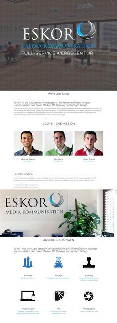 ESKOR - Werbeagentur Kassel | Web Design | CSS Showcase | Gallery | CSS Based Web Design Gallery - Designers love nature!