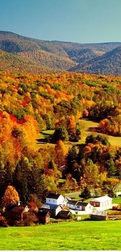 Berkshires of western Massachusetts Um dos lugares mais lindos que gostaria de ir! Interessante a cultura local e pode ver mais informações nesse site :D http://berkshires.org/