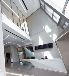 Eli and Edythe Broad Art Museum by Zaha Hadid Architects I Like Architecture