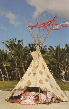 Beach Glamping: honeymoon suite?
