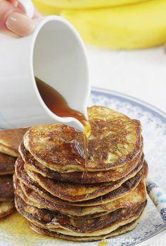 Proste placki bananowe dla dzieci, 9 Lunch Time, Pancakes, Pierogi, Breakfast, Recipes, Fit, Morning Coffee, Shape, Recipies