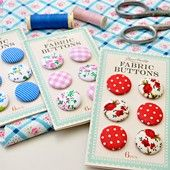 Fabric buttons | DotComGiftShop