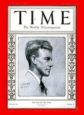 Time Cover Store - Charles Lindbergh, Man of the Year