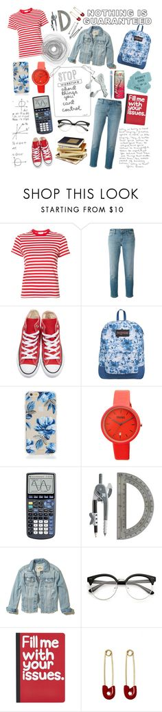 """""""You can't control or change the past, just prepare for the future"""" by rather-be-surfing ❤ liked on Polyvore featuring INDIE HAIR, RE/DONE, J Brand, Converse, JanSport, Sonix, Crayo, Hollister Co., Pier 1 Imports and Kristin Cavallari"""