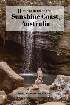 There's lots to do on the Sunshine Coast but here are the top 8 things to do! Coast Australia, Visit Australia, Western Australia, Sunshine Coast, Australia Travel Guide, Perfect Road Trip, Road Trip Destinations, New Zealand Travel, Water Activities