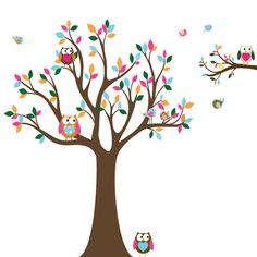 tree with owls