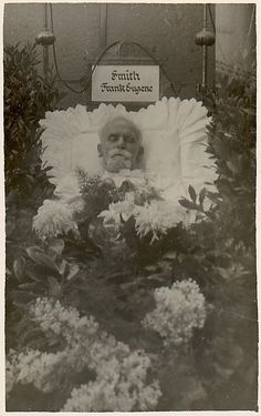 Post Mortem of Frank Eugene in His Coffin