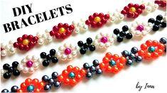 How to make gorgeous floral  bracelet. 🌼🌼DIY tutorial 🌼🌼