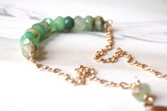 Gemstone Bracelet Accessories Spring Collection Gift by wulfgirl, $42.00
