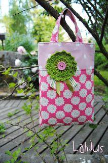 Kids's tote bag  kaksneljaseitteman.blogspot.fi