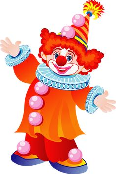 This high quality free PNG image without any background is about clown, distinctive makeup, colourful wigs, colourful clothing and clipart. Clown Crafts, Carnival Crafts, Drawing For Kids, Art For Kids, Clown Cirque, Clown Images, 1 Clipart, Clipart Images, Clown Party