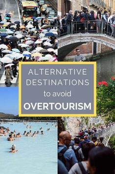 Overtourism is a quickly increasing global issue. We can attempt to help solve the problem of overtourism by choosing to travel to alternative destinations. Places To Travel, Places To Go, Travel Destinations, Packing List For Travel, Travel Tips, Travel Plan, Travel Hacks, Travel With Kids, Family Travel