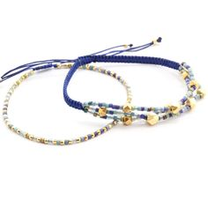 Chan Luu - Blue Mix Bracelet Set, $110.00 (http://www.chanluu.com/bracelets/blue-mix-bracelet-set/)