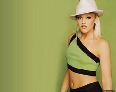 Hatty Gwen Stefani Green Hat