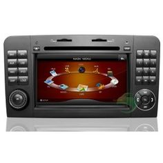In-Dash Car DVD Gps navigation Stereo for Mercedes-Benz ML Class W164 with Radio TV Bluetooth Ipod