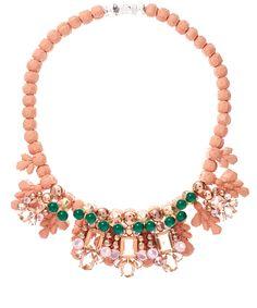 Ek Thongprasert Pink Jete Entrelace Necklace   Jewellery   Liberty.co.uk