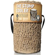 Wisconsin Products Stump Cooler. #Ice Fishing #Hunting #Camping