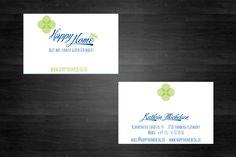 Design und Druckvorlagenherstellung von Visitenkarten Happy Home Blog Hamburg