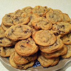 Best Gooey Chocolate Chip Cookies Ever - Chocolate Chip - Ideas of Chocolate Chip #ChocolateChip -  I was looking for a recipe that made chocolate chip cookies in which the chocolate chips were melty and gooey and I found this recipe. They are the best cookies ever!! The secret is the sea salt-you have these delicious sweet buttery cookies and every once in a while you get a hint of salt and it's an awesome contrast to the sweetness. From Savory Sweet Life blog  Best Gooey Chocolate Chip Cookies