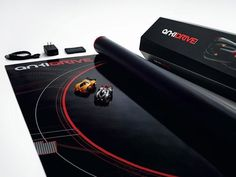 """The digital version of the Carrera track for adults: The manufacturer Anki called his eponymous racing simulation """"Anki Drive"""" as a """"video game in the real world."""""""