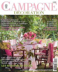 Abonnement magazine Campagne Décoration n° 52 Les maisons du soleil ...