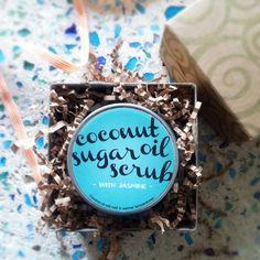 turtle soup: Coconut Oil Sugar Scrub
