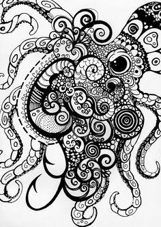 Kraken by ~halfjackalex on deviantART