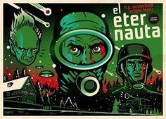 EL ETERNAUTA Boom Studios, Retro, Twitter, Art Direction, Cover Design, Illustrators, My Books, Cool Designs, The Originals