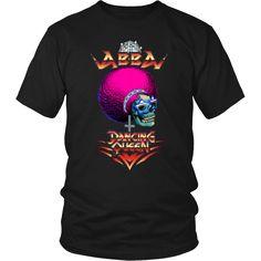 Abba - Dancing Queen metal shirt. USD 16.99 We ship worldwide! -------------------------- metal shirt, metal head, heavy metal, black metal, abba, 70s, metal fashion, clothing, pop, pop music, style