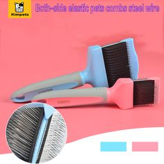 Puppy Cat Hair Grooming Slicker Comb Brush Quick Clean Tool Pet Brand New Gilling Brush Pet Dog Cat Removal Grooming Comb Brush