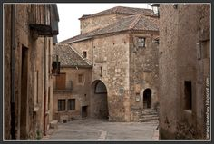 Medieval village of Pedraza, Segovia - Spain