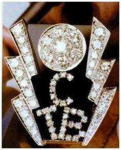Elvis' original TCB ring