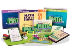 Math Skills Builder uses real-world scenarios in over 500 story problems to practice when and why we should use math problem-solving skills!
