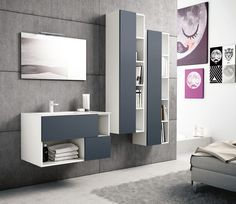Combining the best of open shelving with the warmth of wood, Hastings Tile & Bath's new Open Collection is a handsome addition to their diverse offerings of vanity styles. Open Shelving, Furniture, White Cabinets, Lighted Bathroom Mirror, Home Decor, Bathroom Mirror, Metal Drawers, Shelving, Mirror