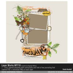 Layer Works No. 718- Studio Double-D Templates- LT226792- DesignerDigitals