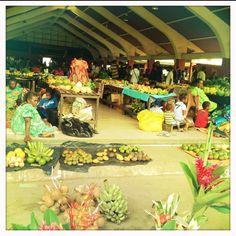 Port Vila Markets, Vanuatu. Feb 2012