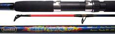 #BowieSRL #Bamboo Max Power Características: Fiber Glass serie Acción pesada Color azul #BowieSRL #Bamboo