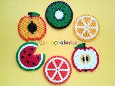 Hama Beads fruit