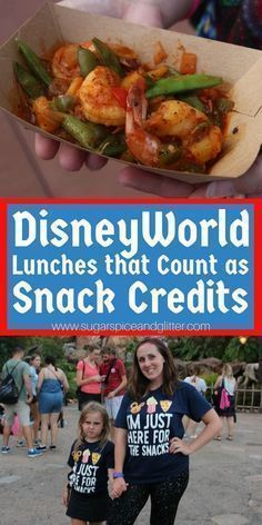 Disney Dining Plan hack for your Disney vacation that helps you use your snack credits for meals - this is the best way to make those credits stretch, or have the freedom to visit double-credit restaurants like Cinderella's Royal Table