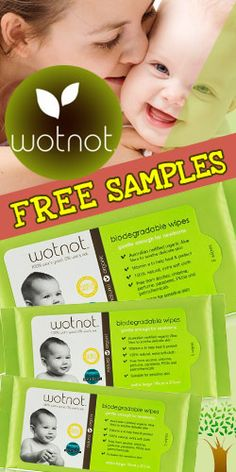 Get a FREE #Sample of Wotnot #Baby Wipes! #freebie